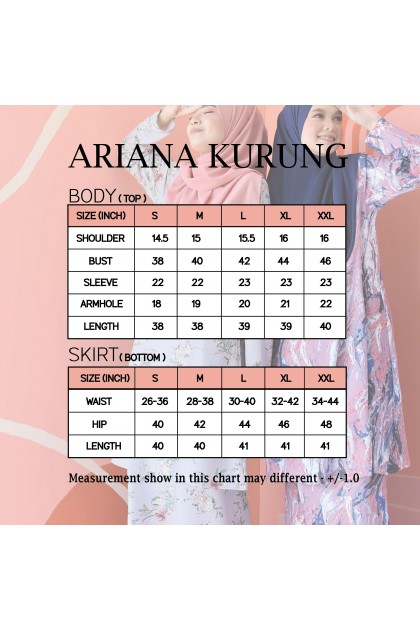 ARIANA KURUNG - SEA BLUE
