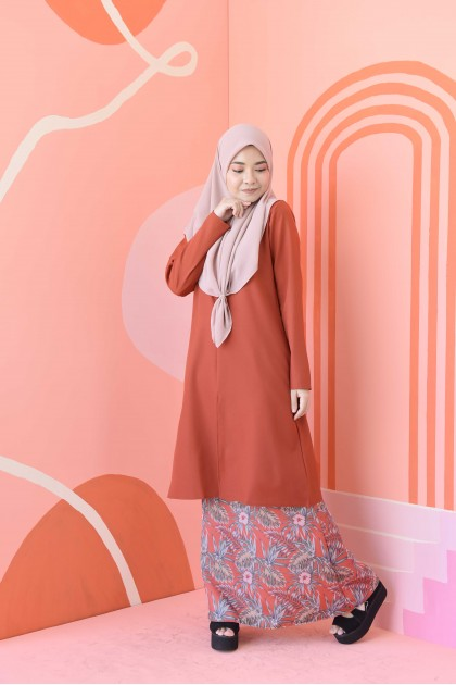 FATEEMA KURUNG - ORANGE PAPAYA